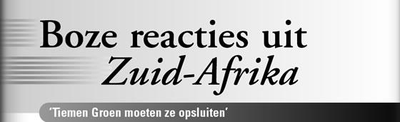 Wielerexpress 2005 - Boze reacties uit zuid-Afrika - Tiemen Groen moeten ze opsluiten