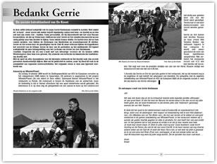 Wielerexpress 2005 - Bedankt Gerrie - De sociale betrokkenheid van De Kneet