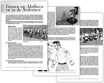 Wielerexpress 2005 - Fietsen op Mallorca en in de Ardennen