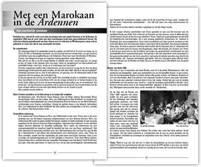 Wielerexpress 2006 - Met een Marokkaan in de Ardennen