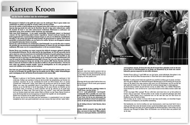 Wielerexpress 2006 - Karsten Kroon en de harde wetten van de wielersport