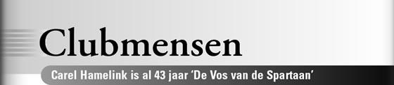 Wielerexpress 2007 - Clubmensen - Carel Hamelink is al 43 jaar De Vos van de Spartaan