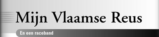 Wielerexpress 2007 - Mijn Vlaamse Reus en een raceband