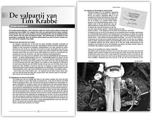 Wielerexpress 2007 - De valpartij van Tim Krabb� en het wielerbrein