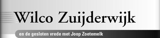 Wielerexpress 2008 - Wilco Zuijderwijk en de gesloten vrede met Joop Zoetemelk