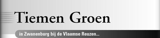 Wielerexpress 2008 - Tiemen Groen in Zwanenburg bij de Vlaamse Reuzen