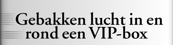 Wielerexpress 2008 - Gebakken lucht in en rond een VIP-box