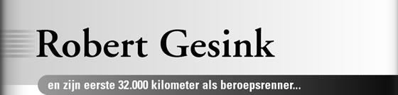 Wielerexpress 2008 - Robert Gesink en zijn eerste 32.000 kilometer als beroepsrenner
