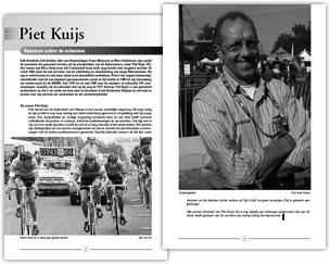 Wielerexpress 2008 - Piet Kuijs Raboman achter de schermen