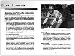 Wielerexpress 2008 - Levi Heimans of de terugkeer van een verloren zoon