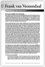 Wielerexpress 2008 - Frank van Veenendaal - Geen lapzwans maar wat dan wel?