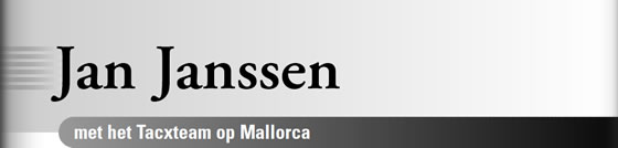Wielerexpress 2009 - Jan Janssen met het Tacxteam op Mallorca