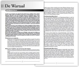 Wielerexpress 2009 - De wartaal van Maarten Ducrot